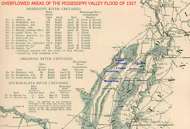 1927 Flood Map