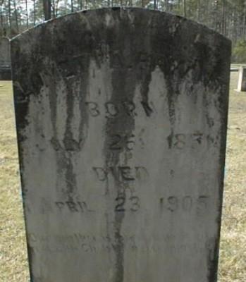 Smith morgan cemetery page 1