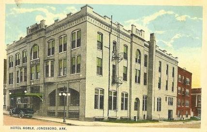 Hotel Le In Jonesboro Circa 1922