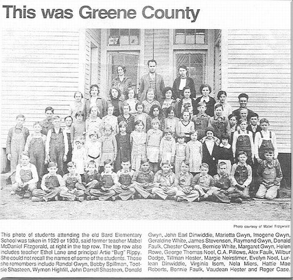 Greene County Arkansas Schools