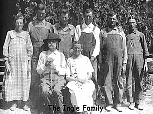 Photo Of The Ingle Family Of Marion Co Ar