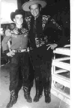 The Cisco Kid and Gary Telford